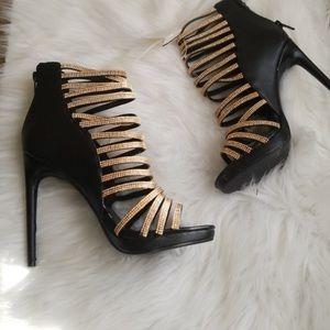 brand new rhinestone heels